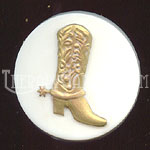 AstraMolds™ Soap Mold Western Cowboy Boot 3.5oz