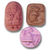 Milky Way Soap Mold Christmas Variety 3 Cavity