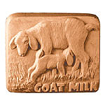 Milky Way Soap Mold Baby Goat Milk Bar 3 Cavity
