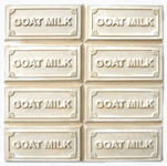 Milkyway Soap Mold Goat Milk 8-Bar Tray